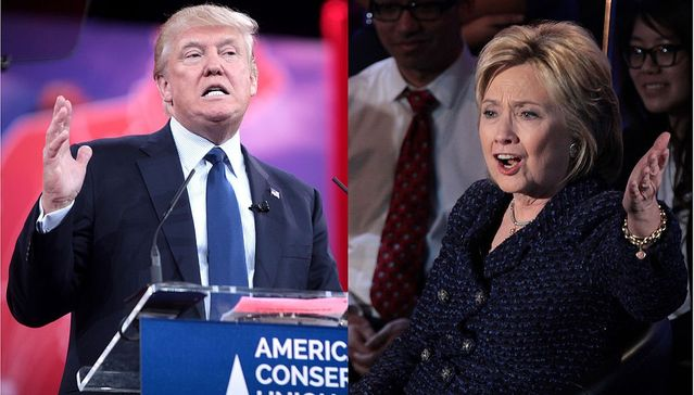 Trump and Clinton Debate Public Speaking Strategies