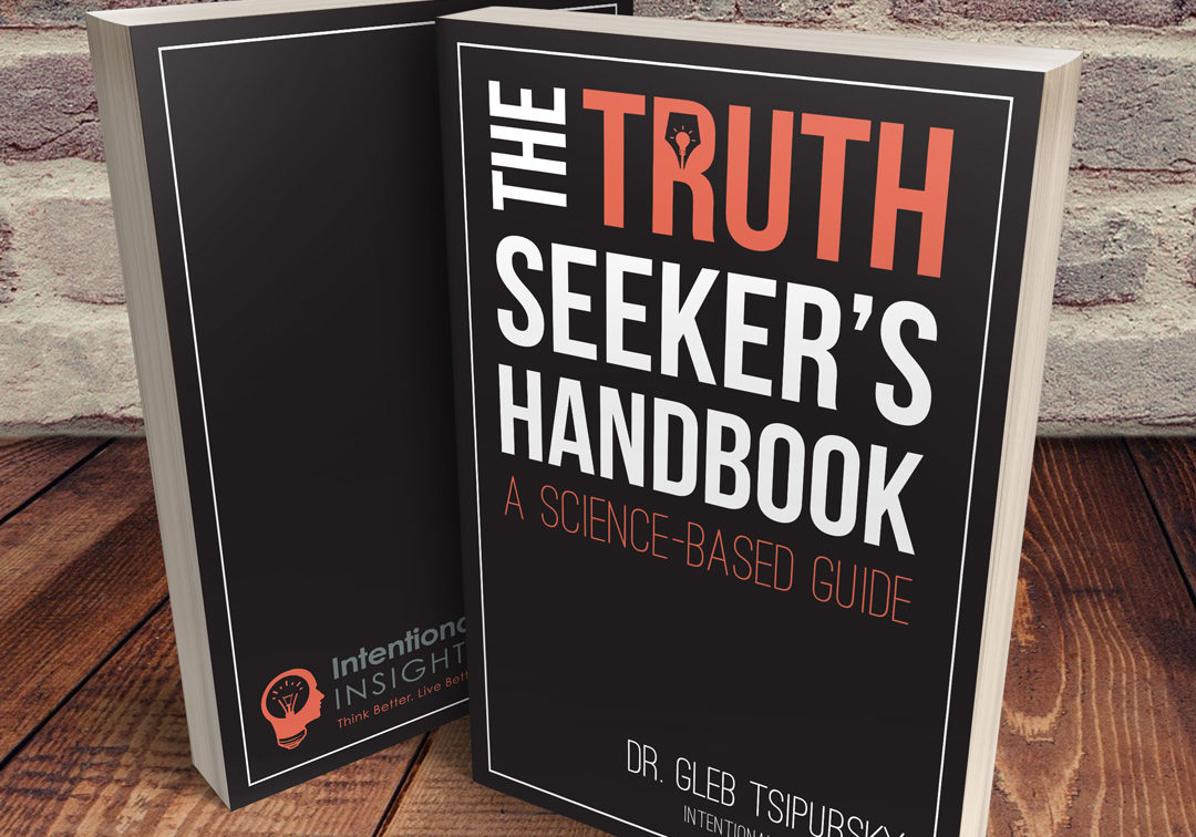 Book Cover for The Truth Seeker's Handbook: A Science-Based Guide